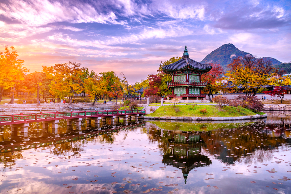 Top 20 địa điểm du lịch đẹp nhất Hàn Quốc