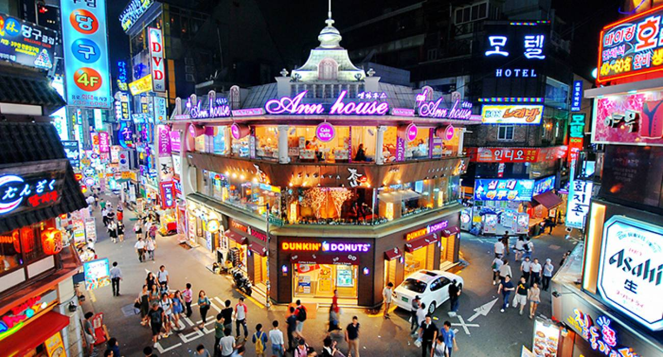 Thiên đường giải trí Hongdae