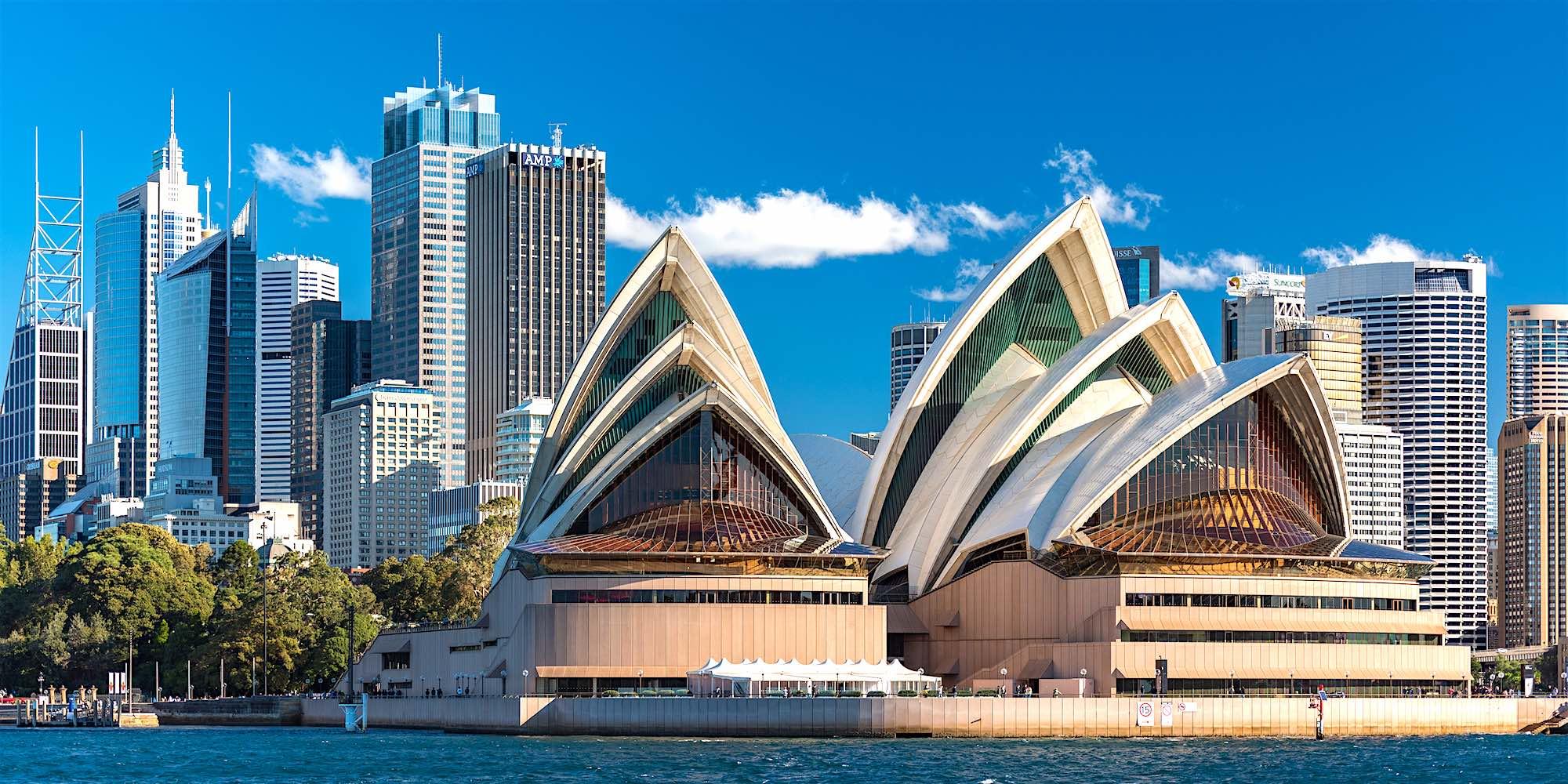 Toàn cảnh nhà hát Opera Sydney