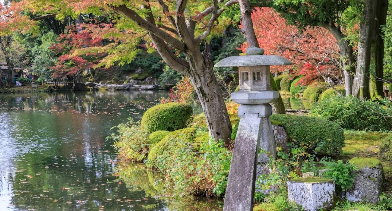 Khu vườn Kenrokuen vào mùa xuân