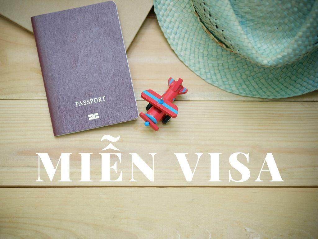 Các nước miễn visa cho công dân Việt  Nam